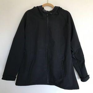Fabletics Black Salma Hardshell Jacket 1X